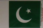 Pakistan Country Flag Rectangular Decal.